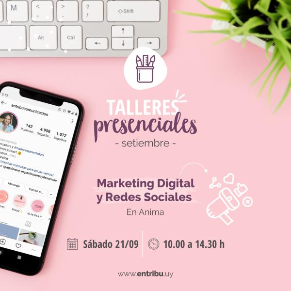 Taller Marketing digital y redes sociales